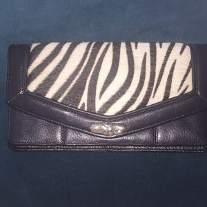 Brighton zebra wallet